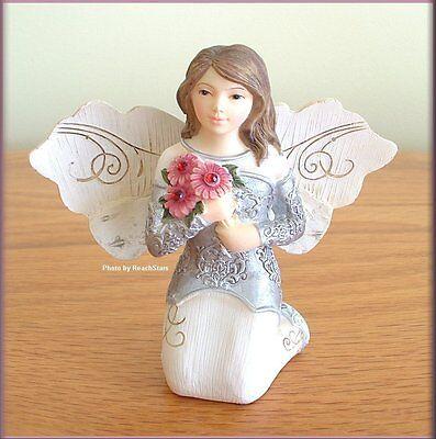 January Monthly Angel Figurine 3
