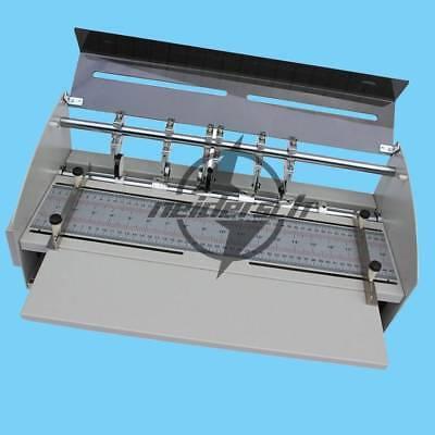 Electric Book Cover Creasing Machine Card Folding Paper Dotted Line Cutting