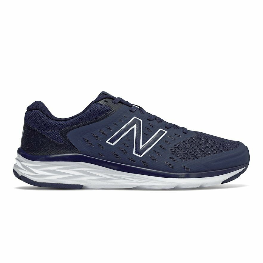 NEW MEN'S NEW BALANCE 490 V5 RUNNING SHOES! IN NAVY BLUE!