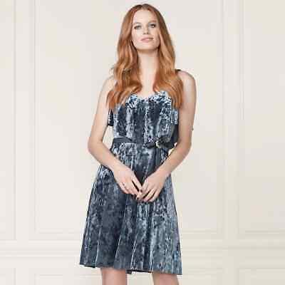 LC Lauren Conrad samt Rüschen Mehrlagig Mieder Kleid - Erwachsene Cinderella Kleid