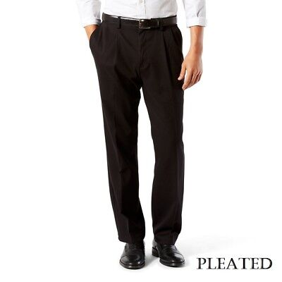 Men's Dockers Easy Khaki Classic Pleated Stretch No Wrinkle Comfort -