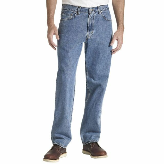 Levi's 550 Mens Medium Wash Relaxed Fit Jeans 31 X 36 | eBay