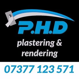 PHD Plastering, Roughcasting - Call or text 07377 123 571 - The Best Prices!