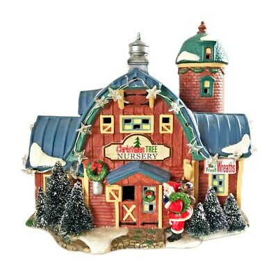 "St. Nicholas Square Village Collection ""Christmas Tree Nursery"" NIB*"