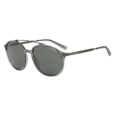 Armani Exchange Forever Young  AX4069S 57mm Round Polarized Sunglasses Brand (Young Sunglasses)