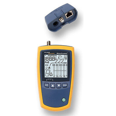 Ethernet Pots Poe Network Cable Tester Voltage Verifier Multi Media Support Lcd