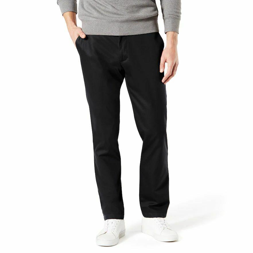 Men's Dockers ® Signature Khaki Lux Athletic-Fit Stretch Pa