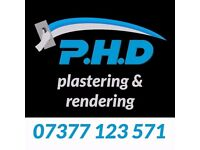 PHD Plastering, Roughcasting - 07377 123 571 - The Best Prices!