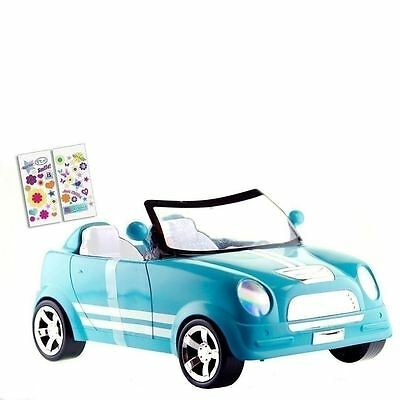 18 Inch Doll Car Blue Mini Cooper fits American Girl Our Generation Accessories