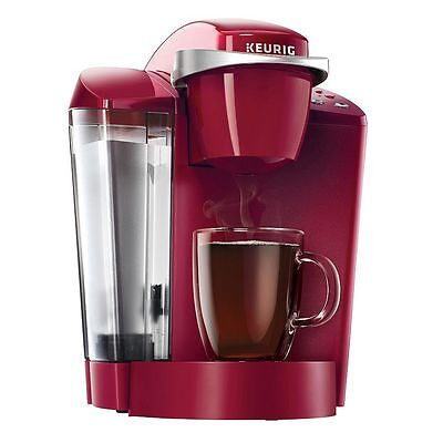 Keurig K50 Classic K Cup Machine Coffee Maker Brewing System   Red   Brand New