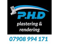 PHD Plastering, Roughcasting - Call or text 07908 994 171 - The Best Prices!