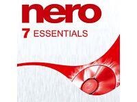 Nero 7 Essentials CD and DVD Burning Software for Windows 10/8.1/8/7/Vista/Xp