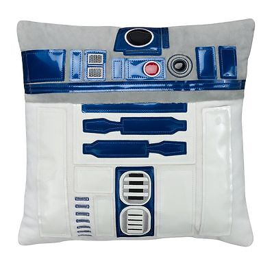 "Star Wars Throw Pillow R2D2 15"" Free Shipping"