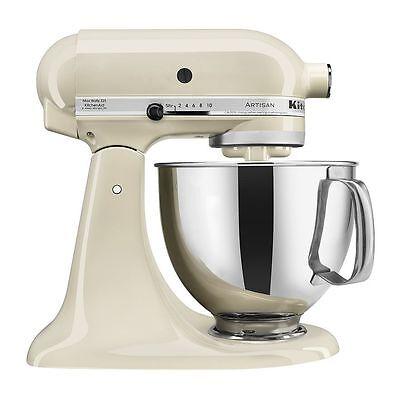 *New* KitchenAid Artisan KSM150PSAC 5-Quart Tilt-Head Stand Mixer - Almond Cream
