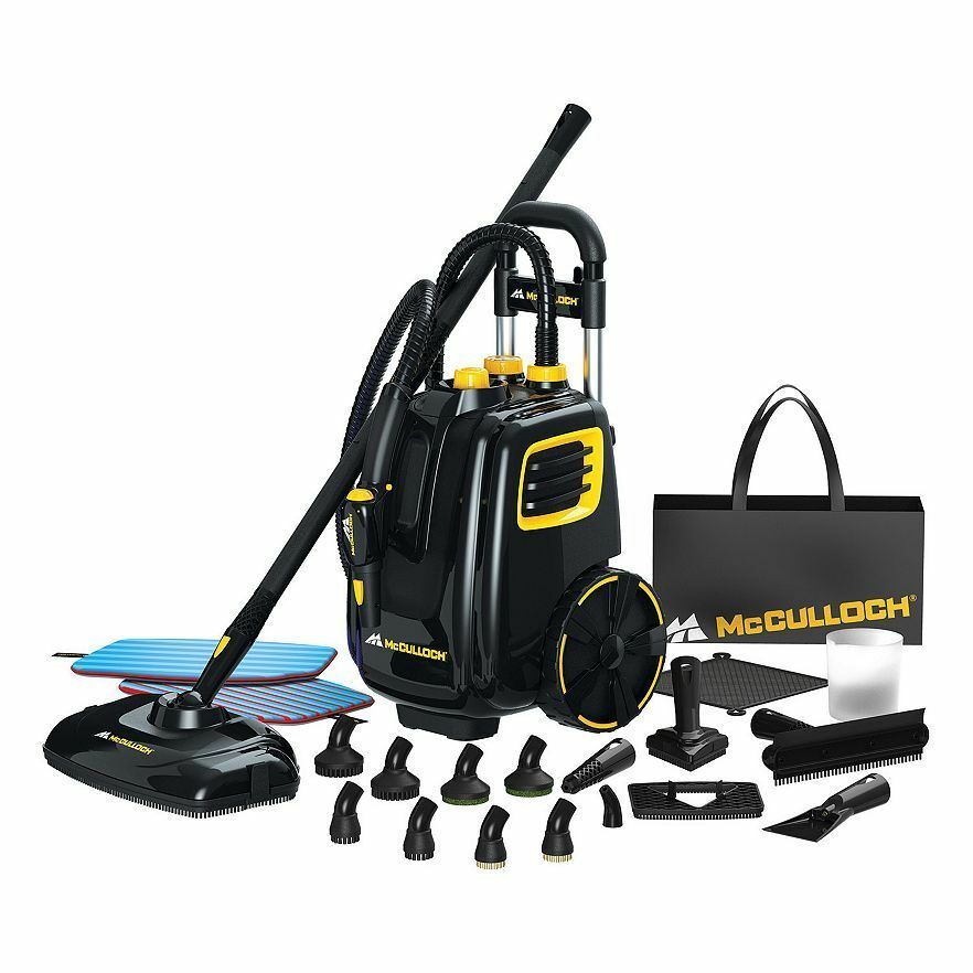 McCulloch Deluxe Canister Deep Clean Multi-Floor Steam Clean