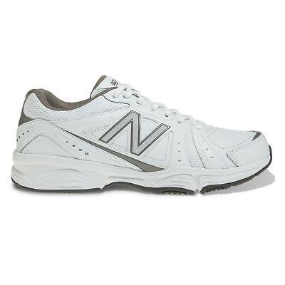New Balance 519 Crosstrainer Shoes Size 8D   Men's  MX519WG  White/Gray