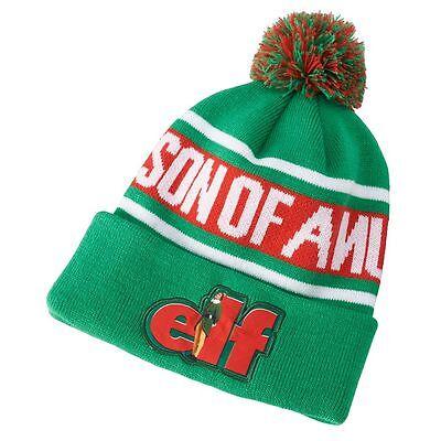 Buddy Elf Hat ( New Elf Movie Buddy Christmas Hat Pom Beanie Winter Cap )
