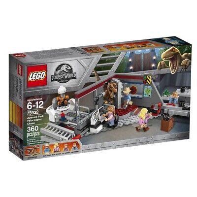 Lego Jurassic Park Velociraptor Chase World New In Box NISB Retired 75932