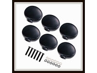 05 TUNER BUTTONS - GROVER/FENDER FIT - NEW.
