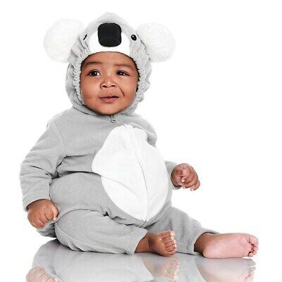 Carters Baby Boy Girl 2PC Plush Hooded Halloween Costume Little Koala Bear - Little Bear Kostüm
