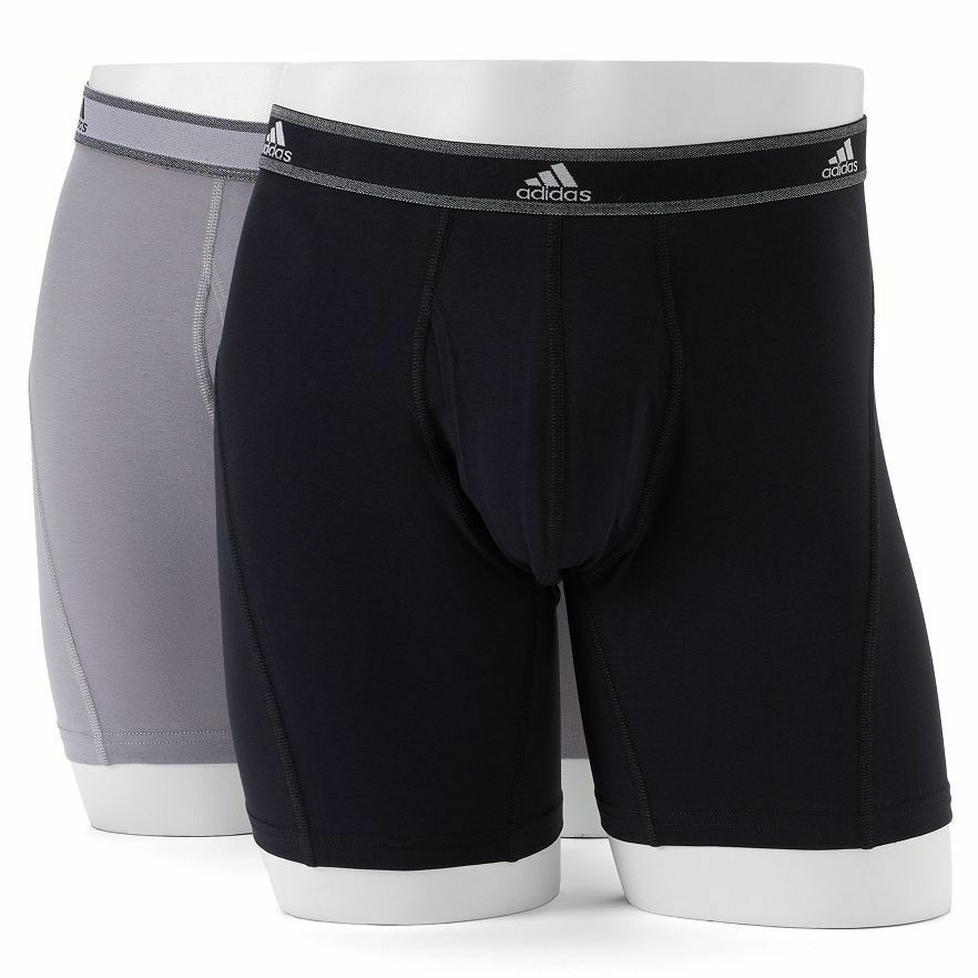 Men's adidas 2-Pack Relaxed performance Stretch Cotton Boxer