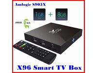 Latest X96 Amlogic S905X Quad Core Android 6.0 1G/8G KODI 16.1 4K Smart Android 6.0 Mashmellow