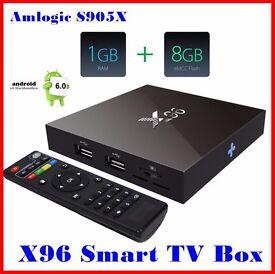 Latest X96 Amlogic S905X Quad Core Android 6.0 1G/8G KODI 16.1 4K Smart Android 6.0 Mashmellow