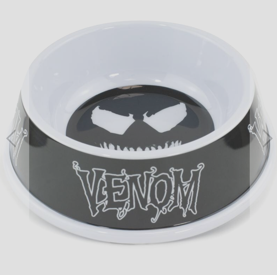 Buckle Down Venom Dog Bowl Pet Food or Water Melamine Dish Holds 2 Cups NEW