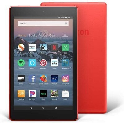 "Amazon Fire HD 8 Tablet (8"" HD Display, 16 GB) - Red"