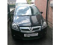 Vauxhall Zafira bonnet in black