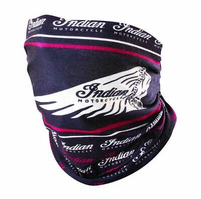 Genuine Indian Motorcycle Headdress Multifunctional Headwear Black/Red 2869642