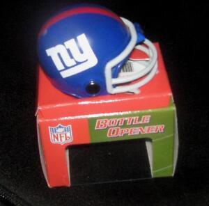 NFL-Magnetic-Bottle-Opener-Mini-Helmet-New-York-Giants-NEW