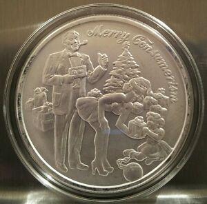 Christmas Silver Coin Ebay