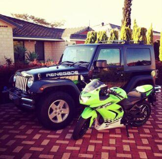 2010 Black Jeep Wrangler JK Sport - Low Kms Perth CBD Perth City Preview
