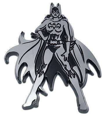 batgirl superhero dc comics chrome auto car emblem usa made - Batgirl Emblem