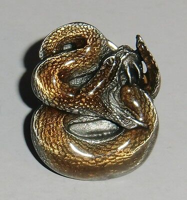 Snake Collector's Lapel Pin - Jewelry
