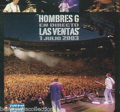 Hombres G CD + 1 DVD En Vivo Las Ventanas 2003 ALBUM 42 Canciones SEALED