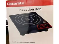 Brand New Caterlite Induction Hob 1800 watts