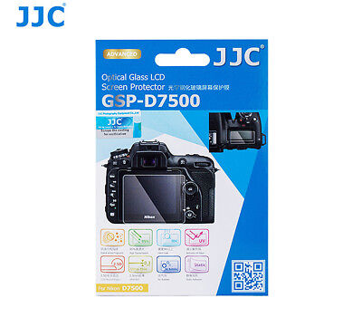 JJC Ultra-thin Tempered Glass LCD Protector for Nikon D7500 US Seller