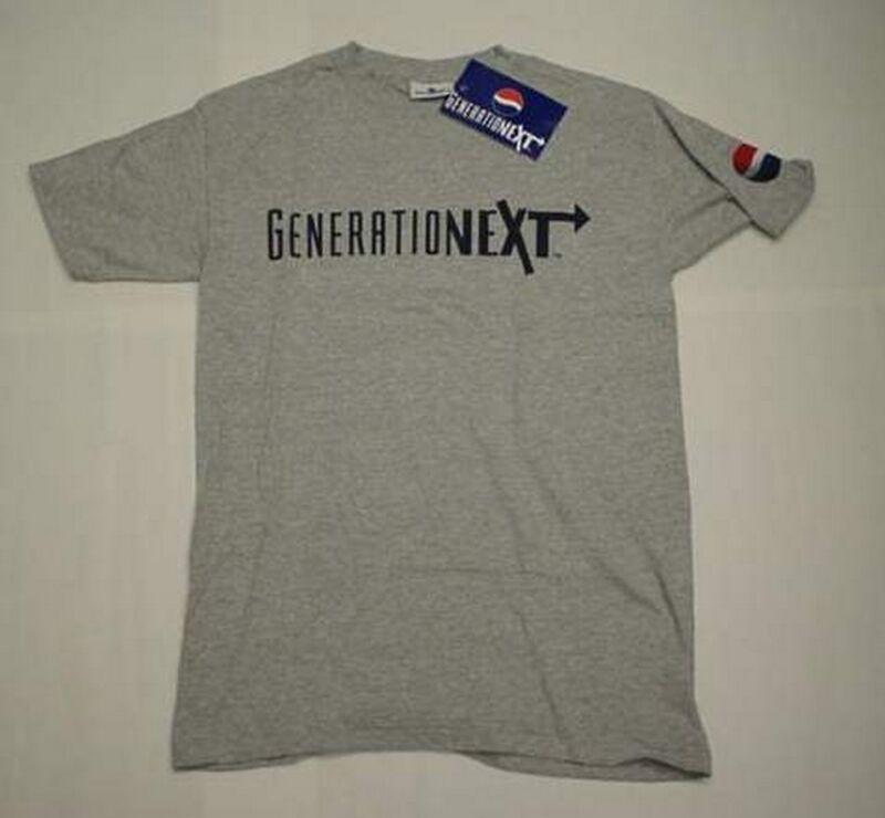 BRAND NEW PEPSI GeneratioNext T-Shirt (Mens M)