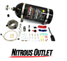 Nitrous Outlet X-Series Universal Dry Single Nozzle Kit 35-200HP 22-90000