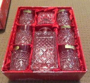 Bohemia Crystal Whiskey Set      never been used Terrigal Gosford Area Preview