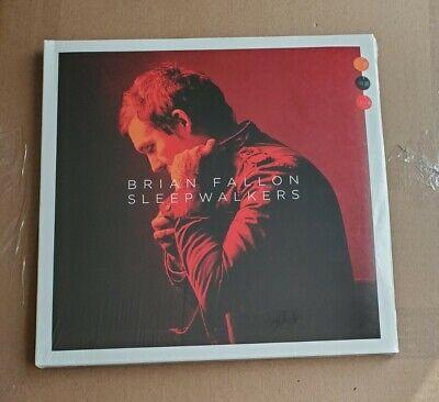 BRIAN FALLON - Sleepwalkers DELUXE EDITION Red Vinyl w/ art prints