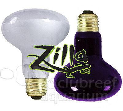 Zilla Day-White Black 50 W 75 100 150 Watt Heat Light Reptile Spot Bulb