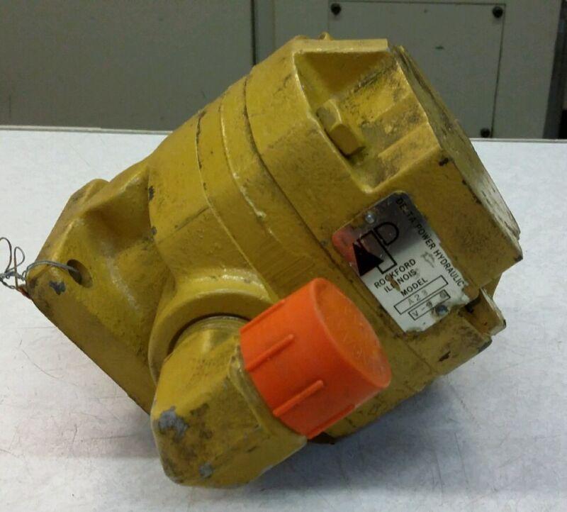 A23 Model Delta Power Hydraulic Pump Used Shipping Inc