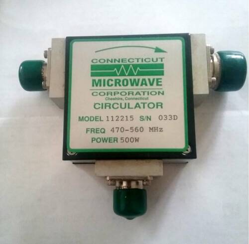 Connecticut Microwave Circulator. NEW. Free Shipping