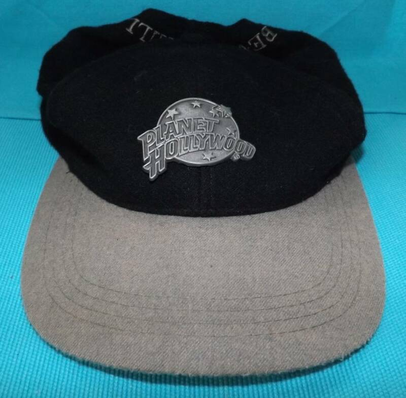 Planet Hollywood Beverly Hills Baseball Hat Cap Black, One Size