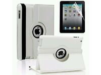 IPAD 2/3/4 CASE COVER IN LEATHER 360° ROTATING SMART STAND CASE