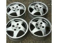 "Honda civic 15"" alloy wheels"