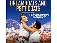 Dreamboats & Petticoats - Cardiff - SECOND ROW SEATS